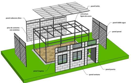 Ingenieros mexicanos usan desechos pl sticos para - Construccion de casas ecologicas ...